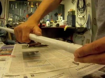 DIY: How to make a telescopic pole mount for gopro