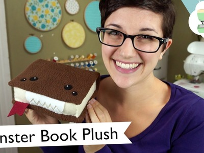DIY Monster Book of Monsters Plush (Collab with sealemondiy)