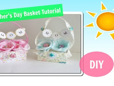 DIY Mother's Day Gift Baskets Tutorial