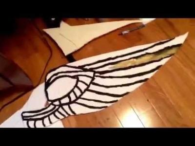 DIY  Pegasus costume for costume class part 1