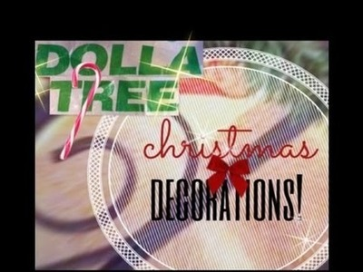Dollar Tree DIY: Easy Christmas Decor Projects!