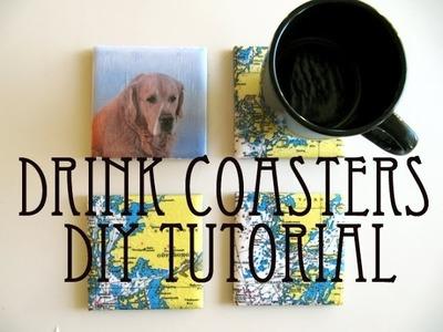 Drink Coasters || DIY Tutorial