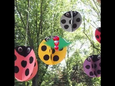 Easy DIY Outdoor crafts for kids