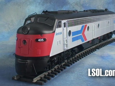 Garden Trains: Aristo-Craft E8 Locomotive Outside.In!