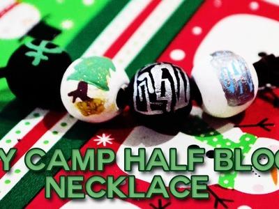 GIFT IDEA: DIY Camp Half Blood Necklace!