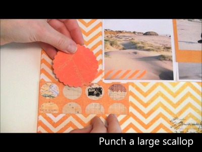 Heidi Swapp Layout Tutorial for Craft Warehouse