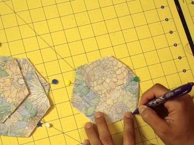 Hexagon Drink Coasters- DIY Tutorial- Scan N Cut