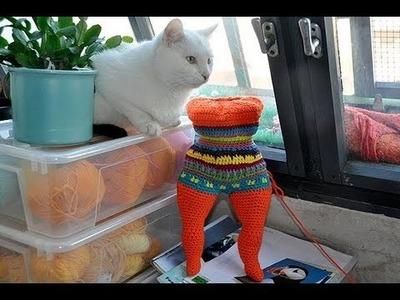 How to Crochet Amigurumi Nana - a tribute to Niki de Saint Phalle * Part 2 * Body