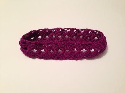 How to crochet easy headband