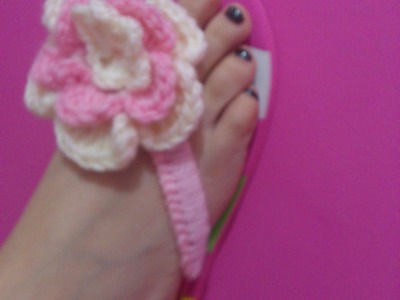 How to: Crochet Over Flip Flops part 1