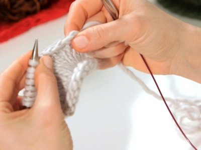 How to Do a Stretchy Bind Off | Knitting