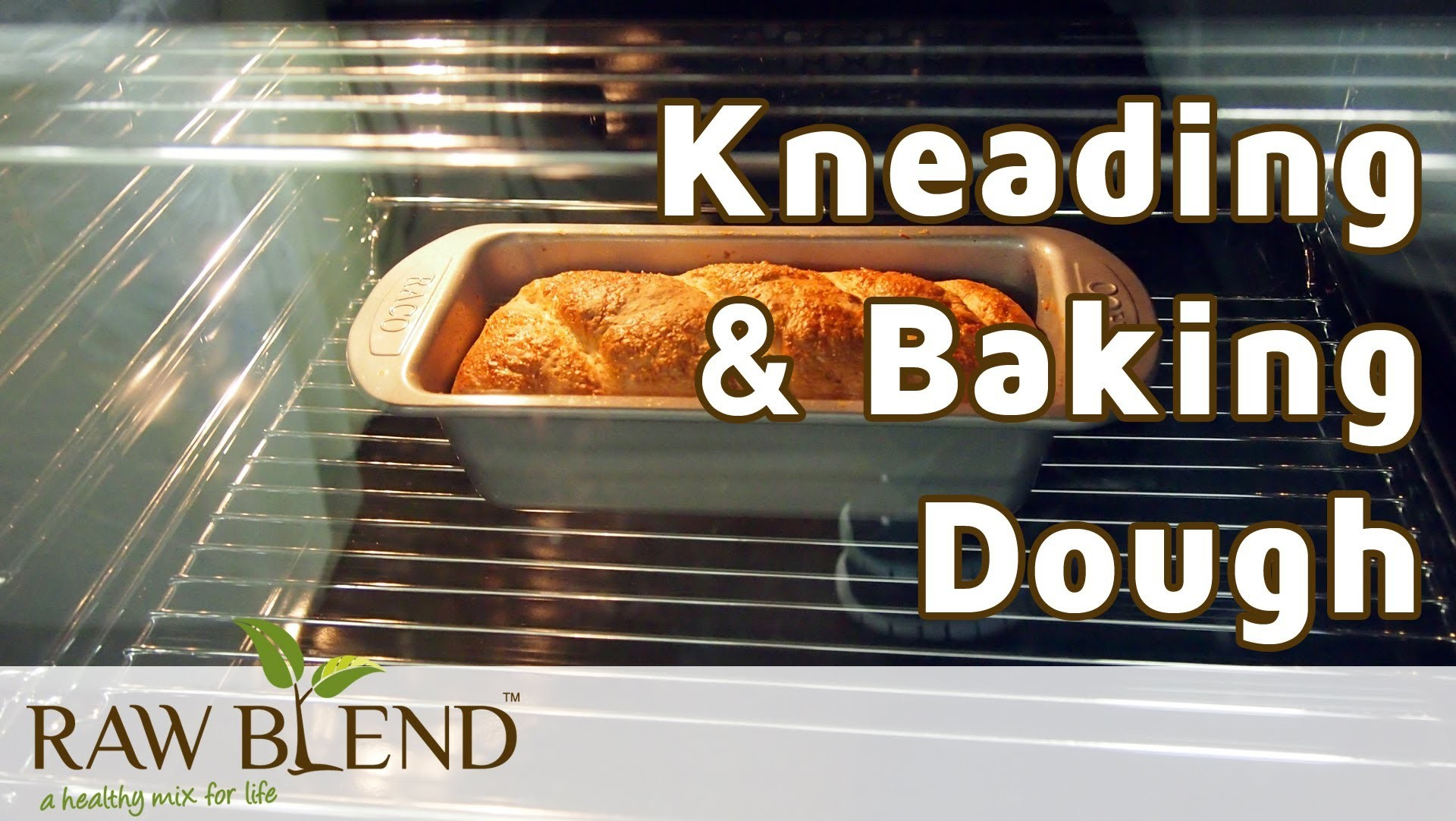 How to Knead Dough & Bake Bread in a Vitamix 5200 Blender by Raw Blend