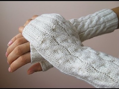 How to knit mittens free pattern