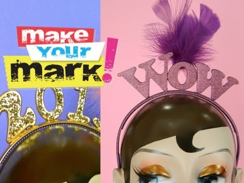 HOW TO: Magnetic Letter Headband DIY