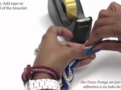 How to make a Nautical Cord Bracelet
