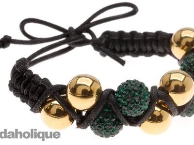 How to Make a Zig Zag Double Shambhala Bracelet