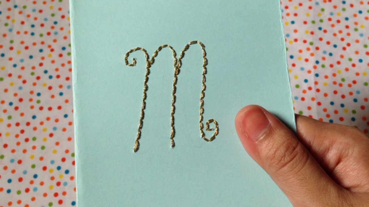 Make a Hand-Embroidered Greeting Card - DIY Crafts - Guidecentral