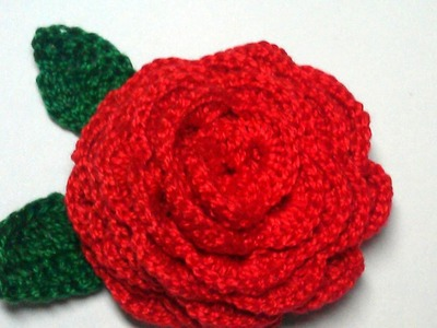 Make a Pretty 3D Crochet Rose - DIY Crafts - Guidecentral