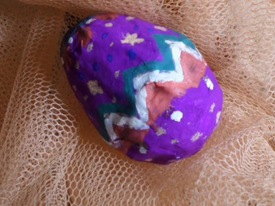 Make Colorful Paper Mache Easter Eggs - DIY Crafts - Guidecentral