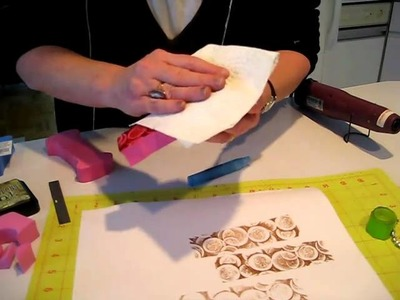 Making Inexpensive Magic Foam-like Stamps