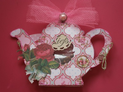 Mother's Day card with teabag tutorial