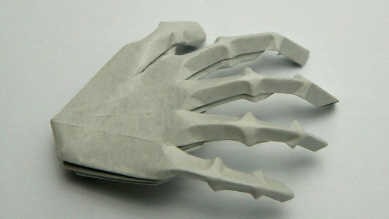 Origami Hand Skeleton (Jeremy Shafer)