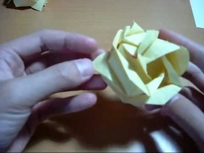 Origami Rose 2: Finishing Touches (Part 1) (Reuploaded)