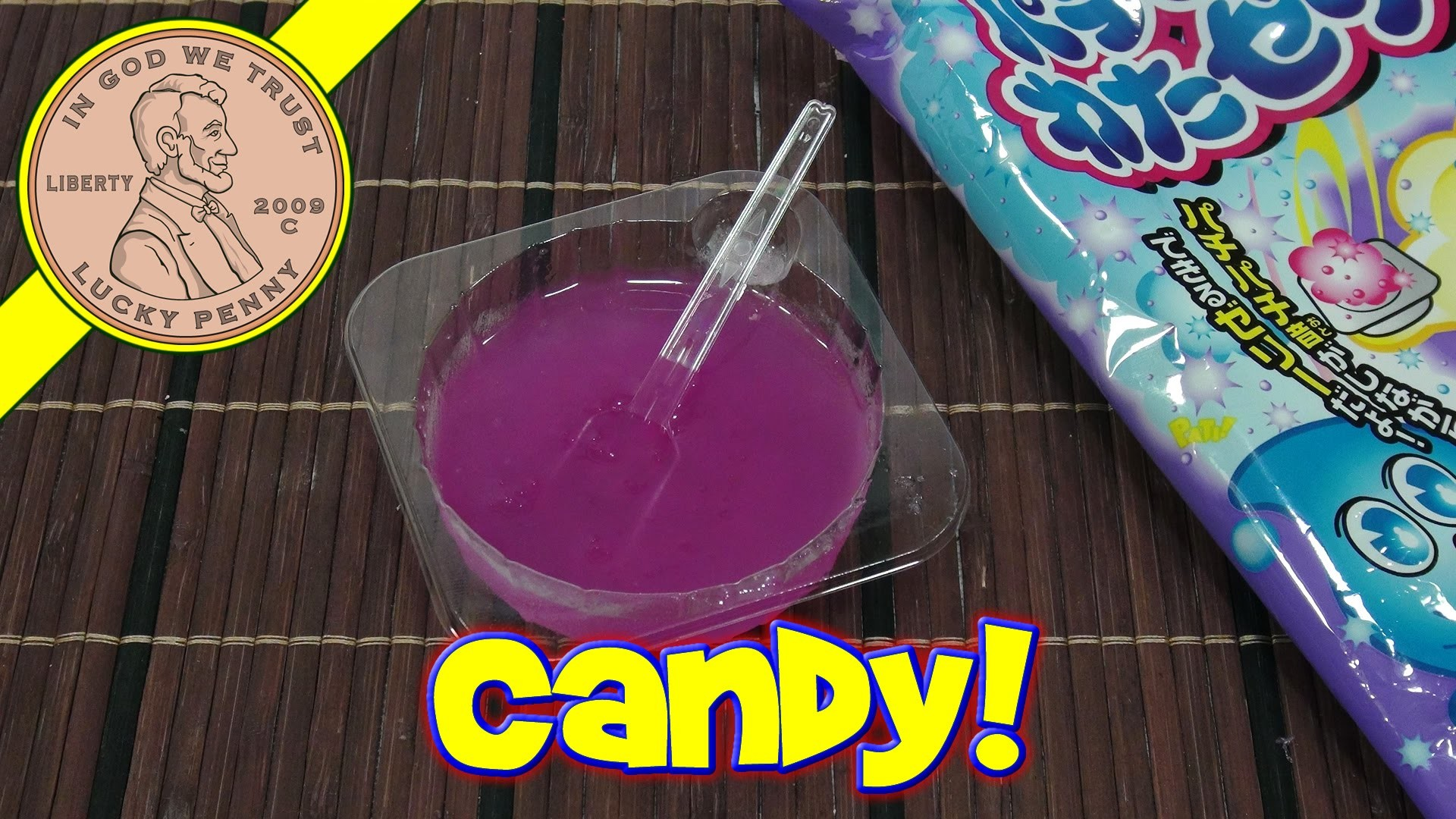 Pachi Pachi Wata Jelly Grape Japanese DIY Candy Kit - Meigum