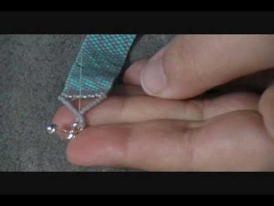 Peyote Stitch Bracelet Part 3