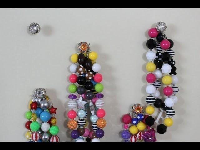 Pintober 3 Diy Necklace Holder How To Make A Necklace Holder Easy