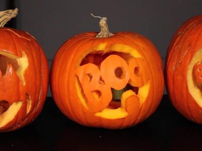 Pumpkin Carving Designs & Faces : Decorating Pumpkins