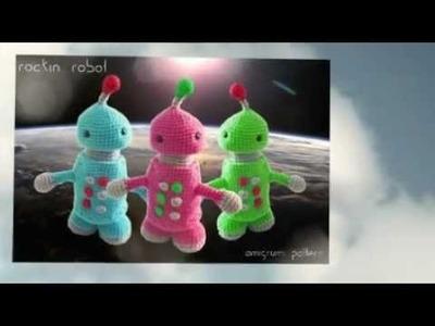 Robot Amigurumi Crochet Pattern