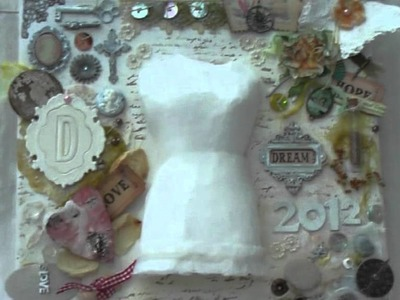 Scrapbooking: Beautiful Vintage Shabby Chic Keepsake