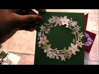 Scrapbooking: Christmas Cards With Memory Box Die