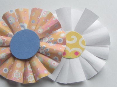 Scrapbooking Craft Flower Embellishment Crafts With Paper