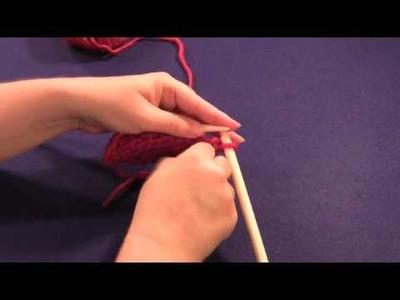 Slip One, Purl One, Pass Slip Stitch Over Decrease (s1p1psso or spp)
