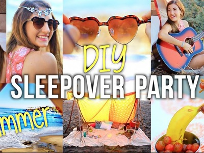 Summer Girls Night Party: DIY Ideas for Decor & Food!
