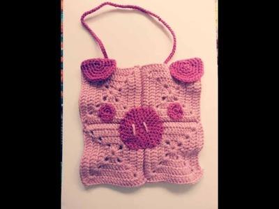 #tutorial cómo hacer #babero #amigurumi #crochet paso a paso -english subtitles-