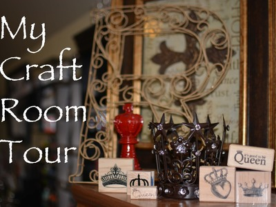||1.|| Studio Reign: My Craftroom Tour Video 1 of 3 Organization by Zones