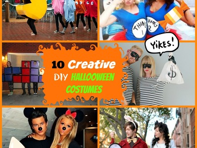 10 Creative DIY Costumes for Groups,Couples,Besties.