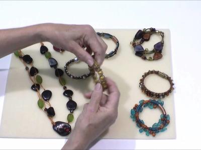 AntelopeBeads - How to Make Jewelry Using Waxed Beading Cord