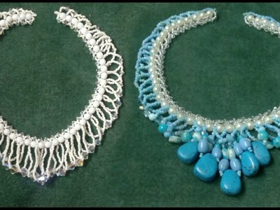 "Beading4perfectionists : Flat spiral stitch with a ""twist"" beading tutorial"