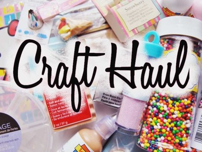 Collective Craft Haul - Michael's, Hobby Lobby, and more