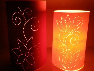 Create Moroccan Inspired Paper Luminaries - DIY Home - Guidecentral
