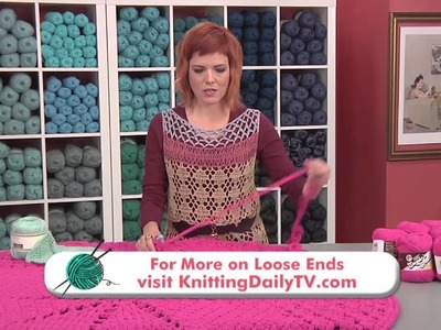 Crochet a Thrown Rug Inspired by a Doily, from Knitting Daily TV Episode 1409 with Vickie Howell