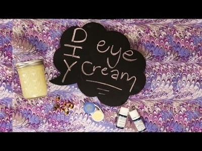 DIY Beauty | How to Make Coconut Oil Eye Cream