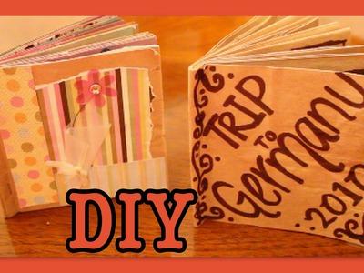 DIY: Brown Bag Album. Scrapbook
