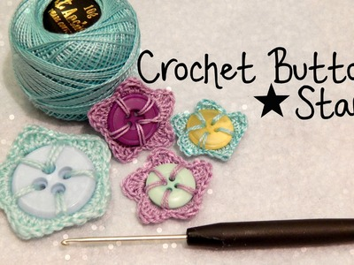DIY Crochet Button Star How To ¦ The Corner of Craft