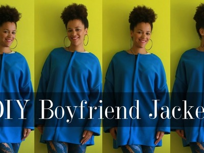 DIY Fall Clothes | How To Make a Boyfriend Coat