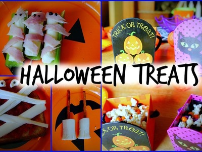 DIY Halloween 2014 Treat Ideas + Giveaway!